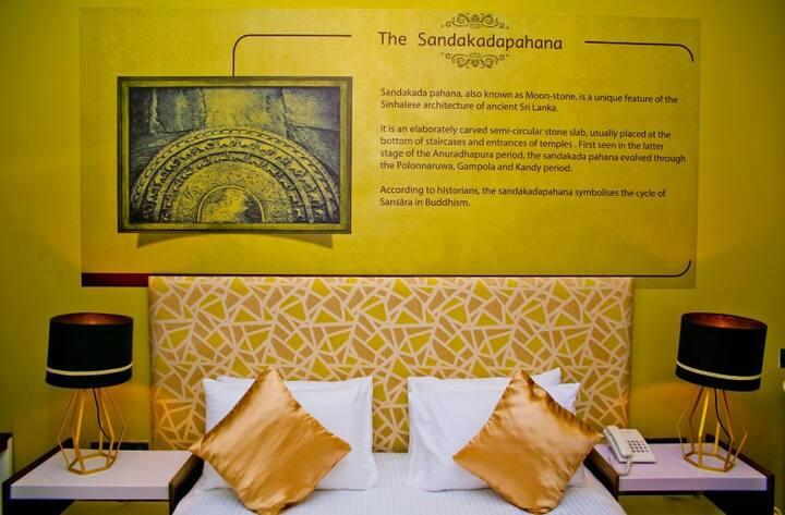 Sandakadapahana(Deluxe Double Room)