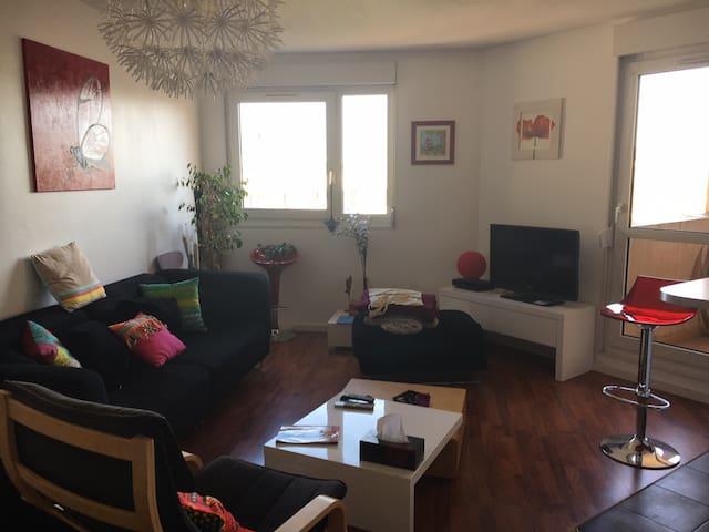 Logement lumineux et confortable à Gerland - Lyon-7E-Arrondissement - Apartment