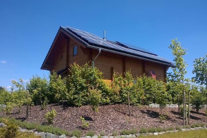 Luxe blokhuis tussen Winterberg en Willingen - rustig en prachtig uitzicht
