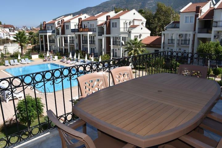Appartement, balcony et pool Oludeniz Hisaronu