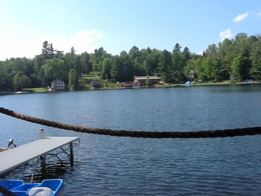 Lake Eden from Deck