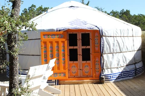 "Private, Romantic Yurt - ""Lena Ger"" by Yurtopia"