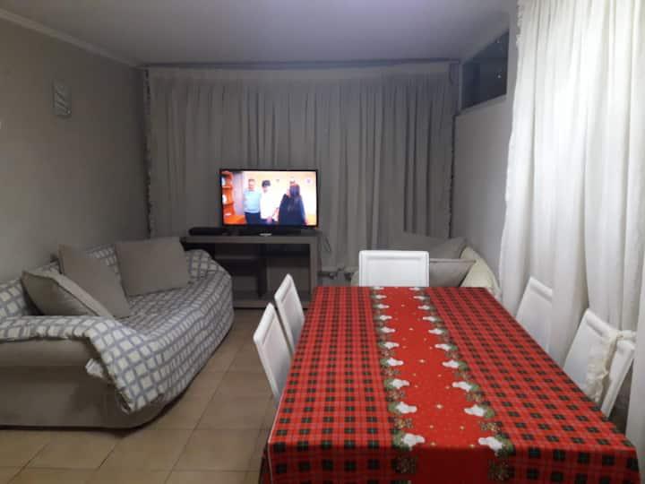 Cómodo y bonito apartamento en Quinta Normal