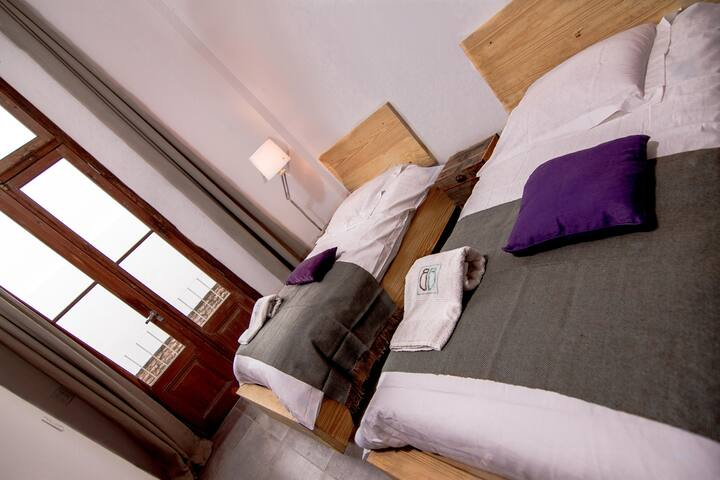 Mooie kamer TWIN met eigen badkamer