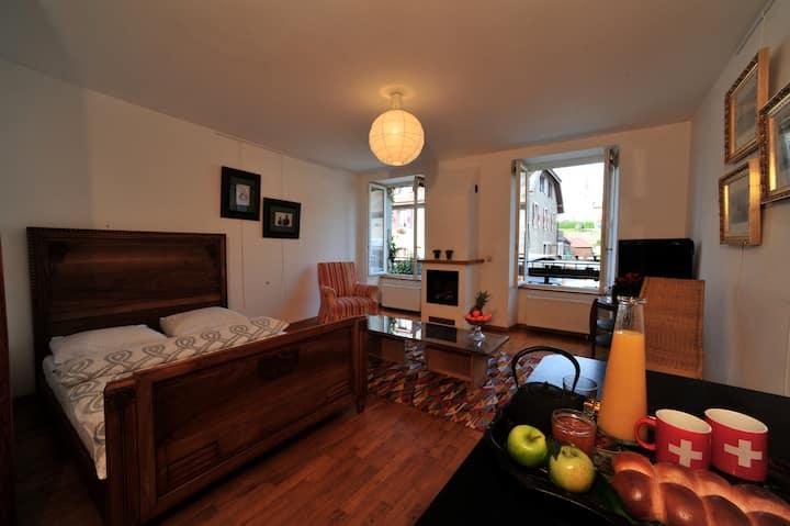 Appartement 2p dans le Vieux-Bourg
