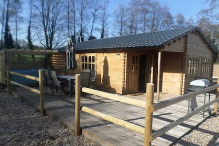 'Bramble Lodge' Littlebourne, nr Canterbury - Littlebourne - Cabin
