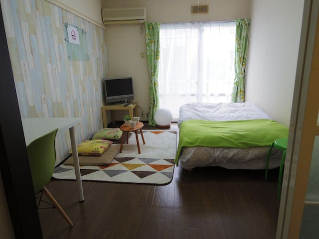 8 min to Kunitachi sta   国立駅徒歩8分 FreeWifi - Kunitachi-shi - Apartment