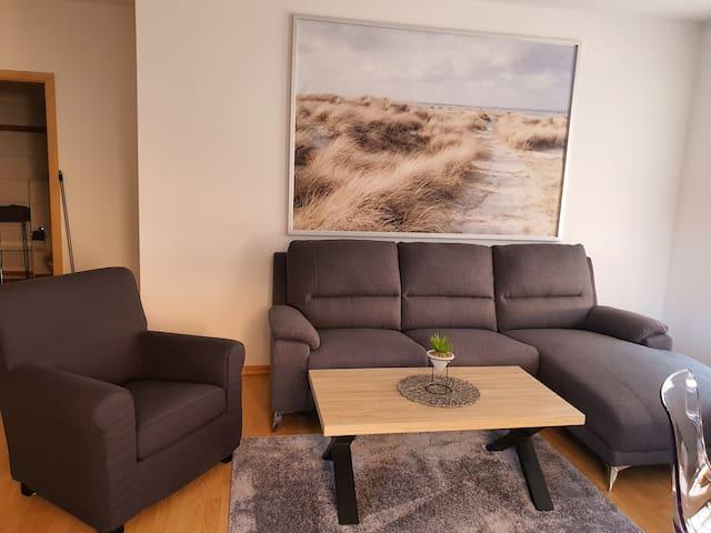 Fereinwohnung in Neustadt-Glewe mit 2 Zimmern