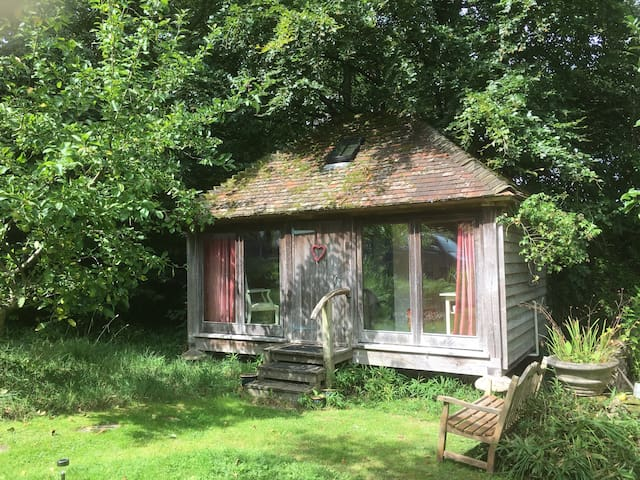 Steddle cottage in the woods...near Midhurst.