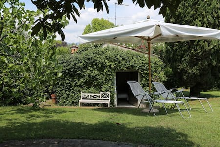 Charming Vintage Cottage with Pool, Tennis & more - San Felice del Benaco - Pension