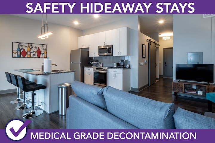 Safety Hideaway - Medical Grade Clean Home 3