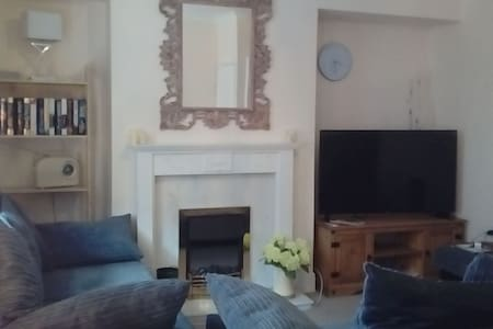Heart of Filey 2 storey maisonette with sea views
