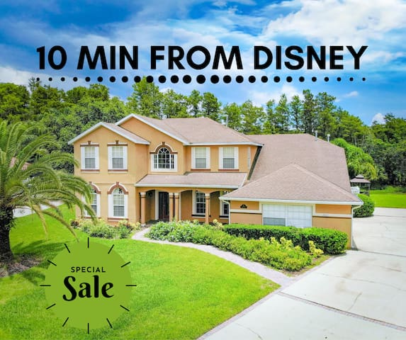 3,ooo sqft House 10-min from DISNEY