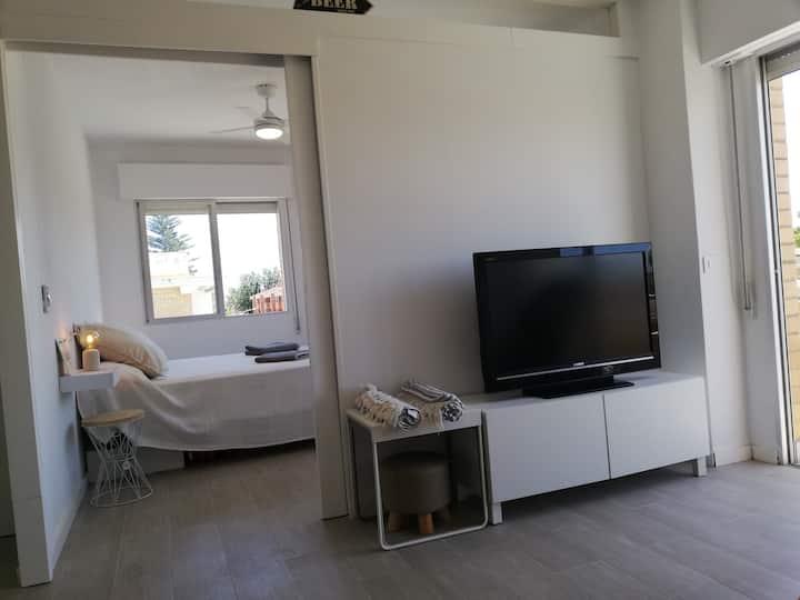 Apartamento moderno y con encanto en La Ribera
