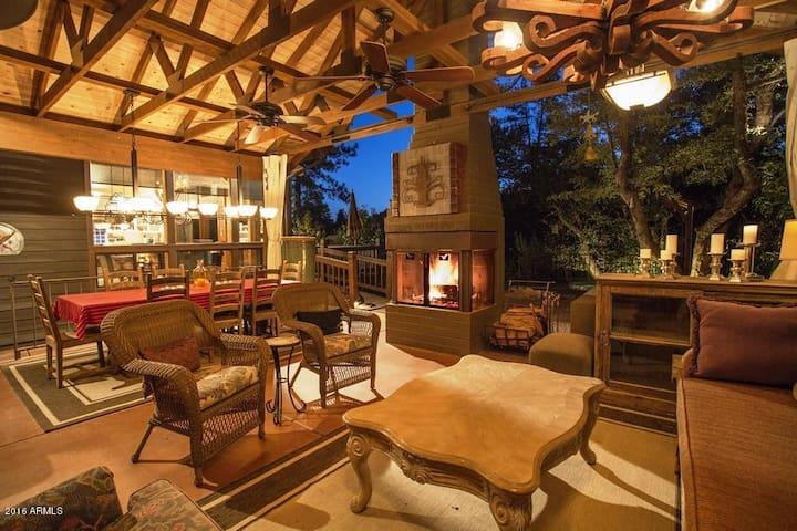 Dancing Bear Lodge; Pine, AZ - Pine - Kulübe
