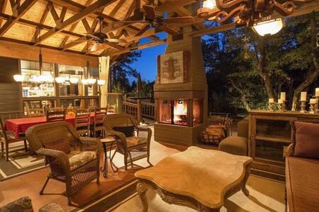 Dancing Bear Lodge; Pine, AZ - Pine - 小木屋