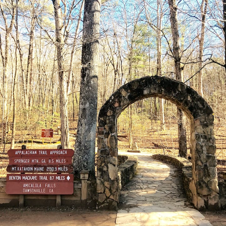 Archway to Appalachian Trail  Approach