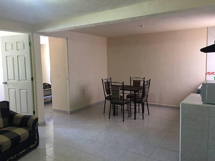 Departamento cómodo y amplio zona centro N4