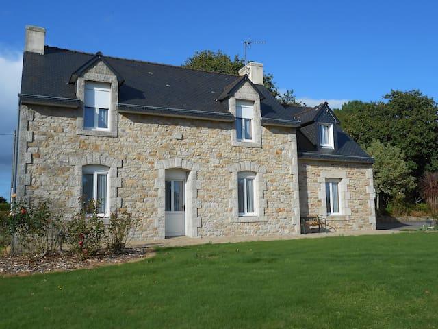 Maison bretonne, au calme, sans vis à vis