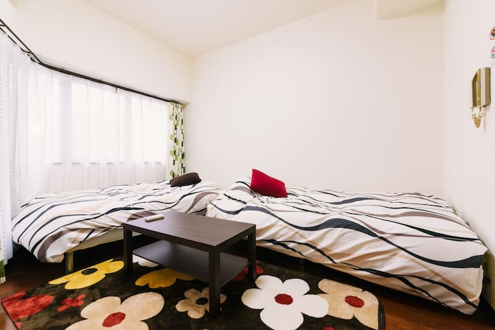 New Open!!  Easy Access to Tenjin & Canal City - Chuo Ward, Fukuoka - Leilighet