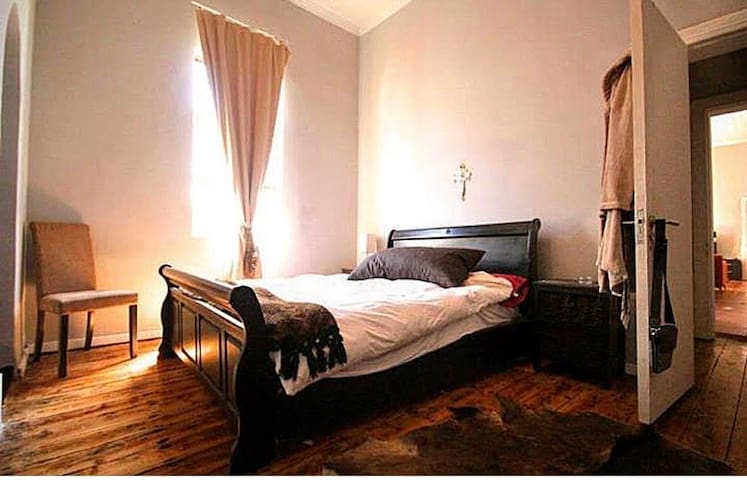 Spacious Room in Big Old Town House