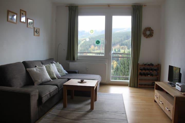 Cozy apartment in Bedřichov - Špindlerův Mlýn