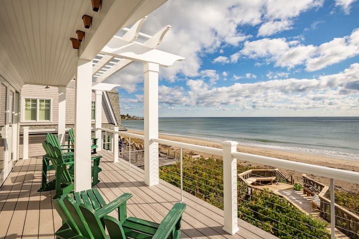 Direct Oceanfront  at Wallis Sands Rye, NH