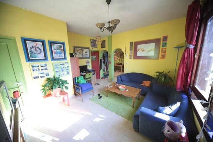 הדירה הצבעונית והקסומה של רוני