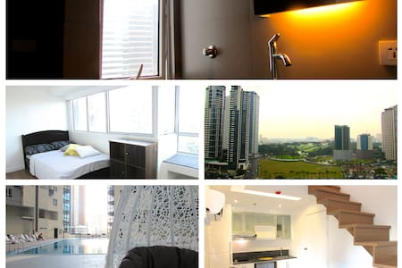 Modern w/Perfect View Loft! 2BR in Central BGC  ;) - Taguig
