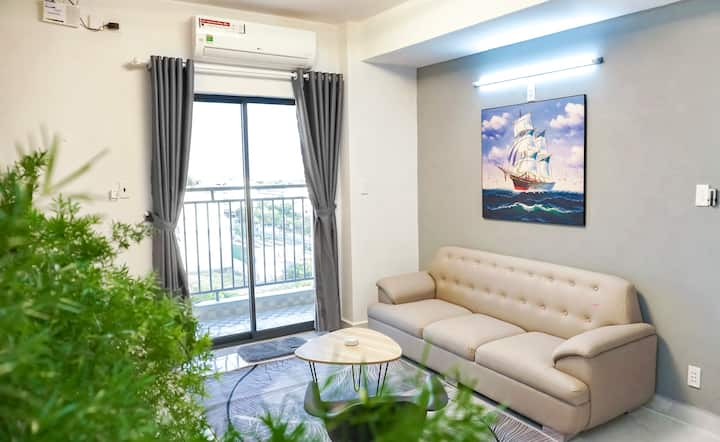 [Seaside] 2-Bedroom Apartment+Sunny Balcony-A4.10