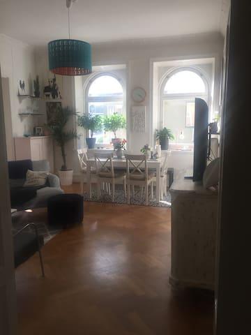 Ljus och fin Familjevänlig Lägenhet
