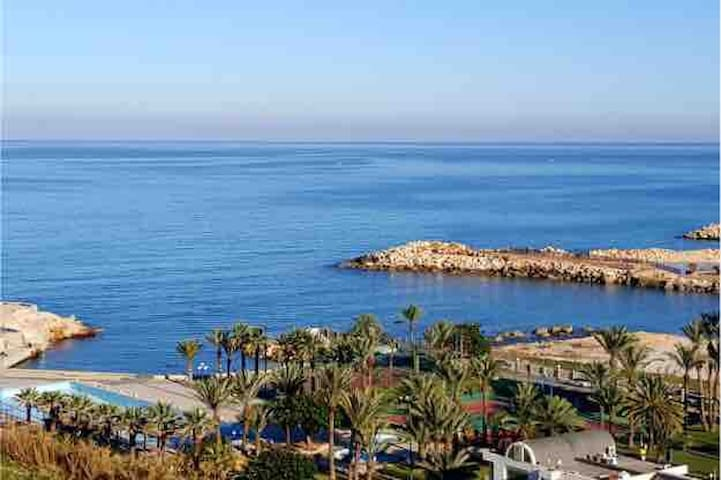 Chalet at Kaslik Samaya beach resort getaway