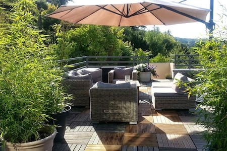 Three-bedroom home with penthouse and roof terrace - Fontaine-le-Port - Hus