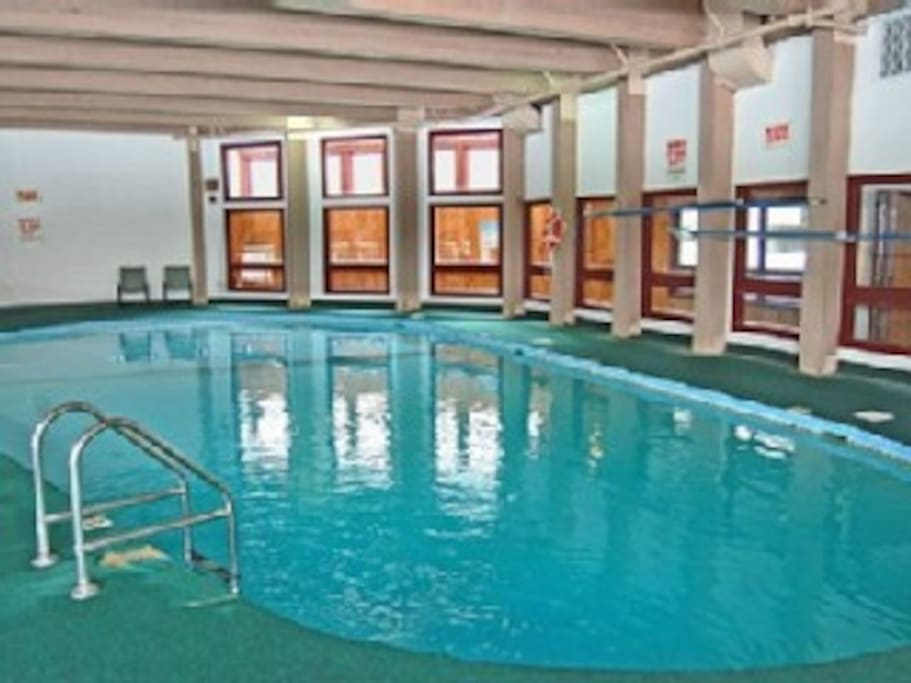 1 of 2 indoor pools at the community center (4 pools total)