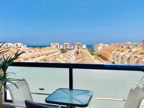 Panorama Seaview Apartment with Private Parking