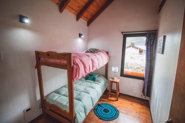 Habitación compartida, alojamiento en Lago Puelo