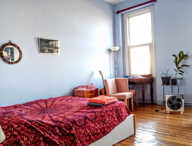 Lively Big Room with a Bosphrous View in Cihangir