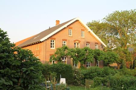 Zwischen den Höfen, helle Ferienwohnung - Nordsee - Krummhörn