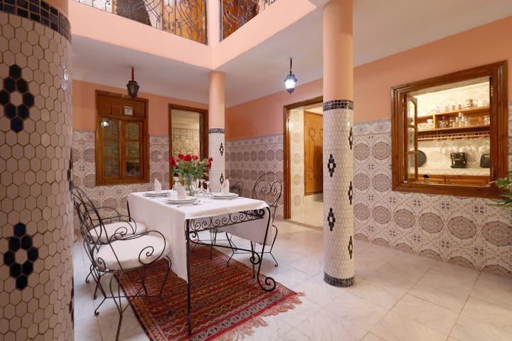 Riad Assafou Marrakech en entier