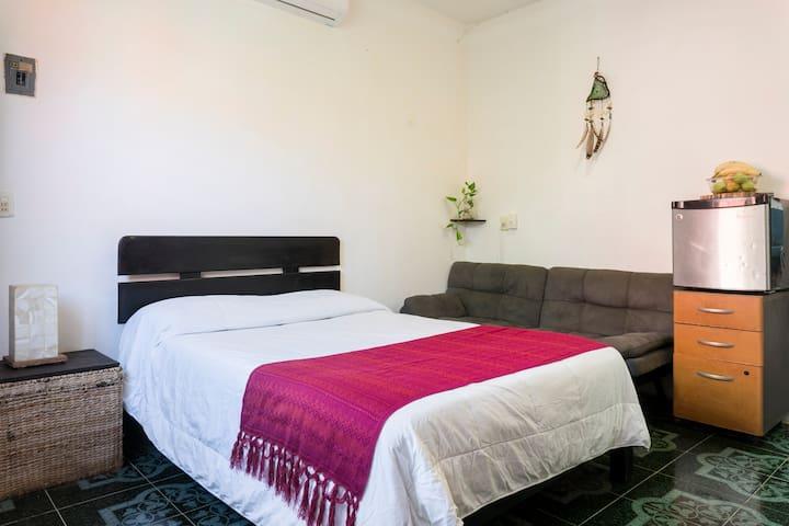 Beautifull prívate room in Tulum center ☀️