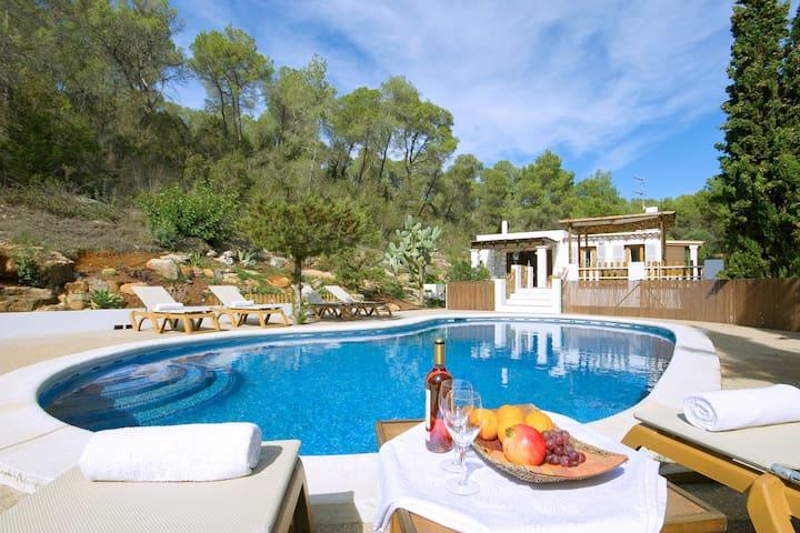 Charming villa, huge pool, wifi, aircon, relax - Sant Mateu d'Albarca - 別荘