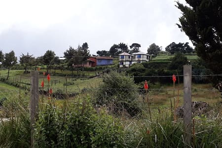 Casa de campo en las afueras de Huehuetenango