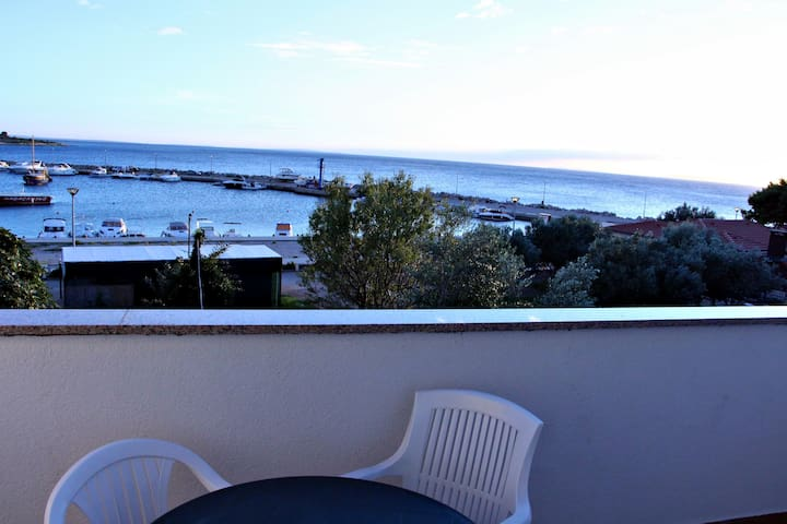 Semy apartment with sea view A3 - Novalja - Byt