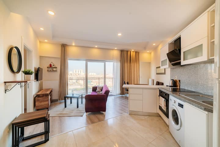 Turkey Istanbul High Floor Apartment For Rent