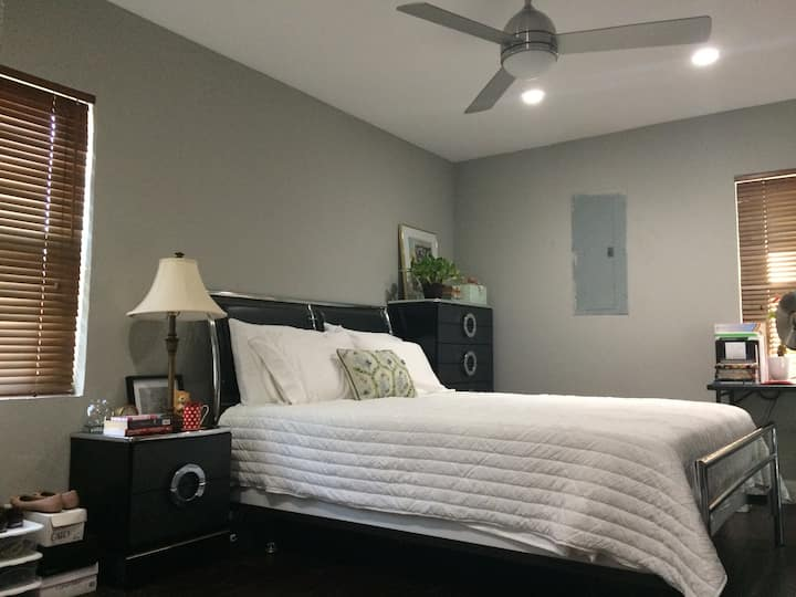Gorgeous Mater Bedroom with Private Bath