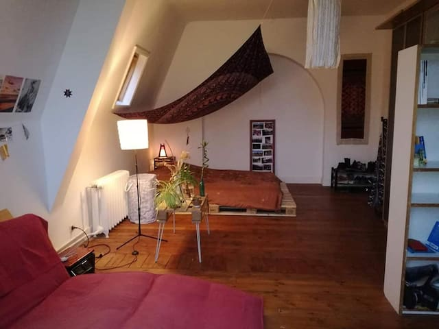 Cosy furnished room in a charming house in Uccle