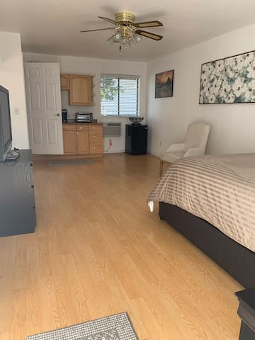 Within walking distance of Trinity Hospital!