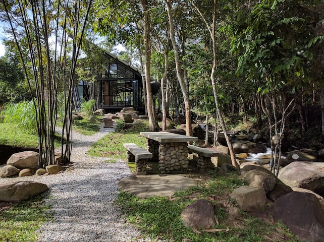 Tanah Larwina Retreat. - Hulu Langat - Natuur/eco-lodge