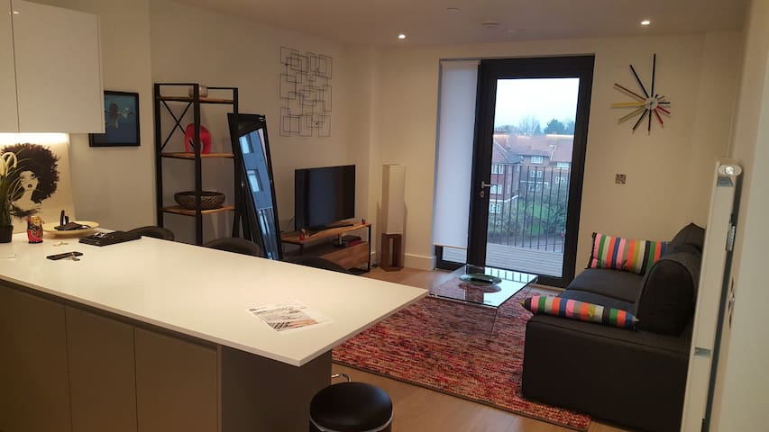 Spacious and modern flat next to Wembley Stadium - Gran Londres