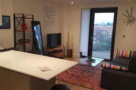 Spacious and modern flat next to Wembley Stadium - 大伦敦 - 公寓